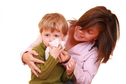 children cough