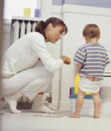 teach child to use toilet