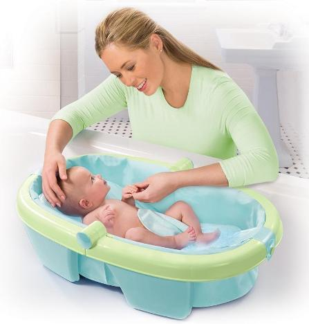 safety baby bath