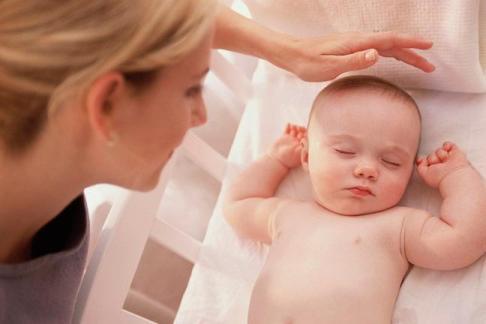 teach baby to sleep